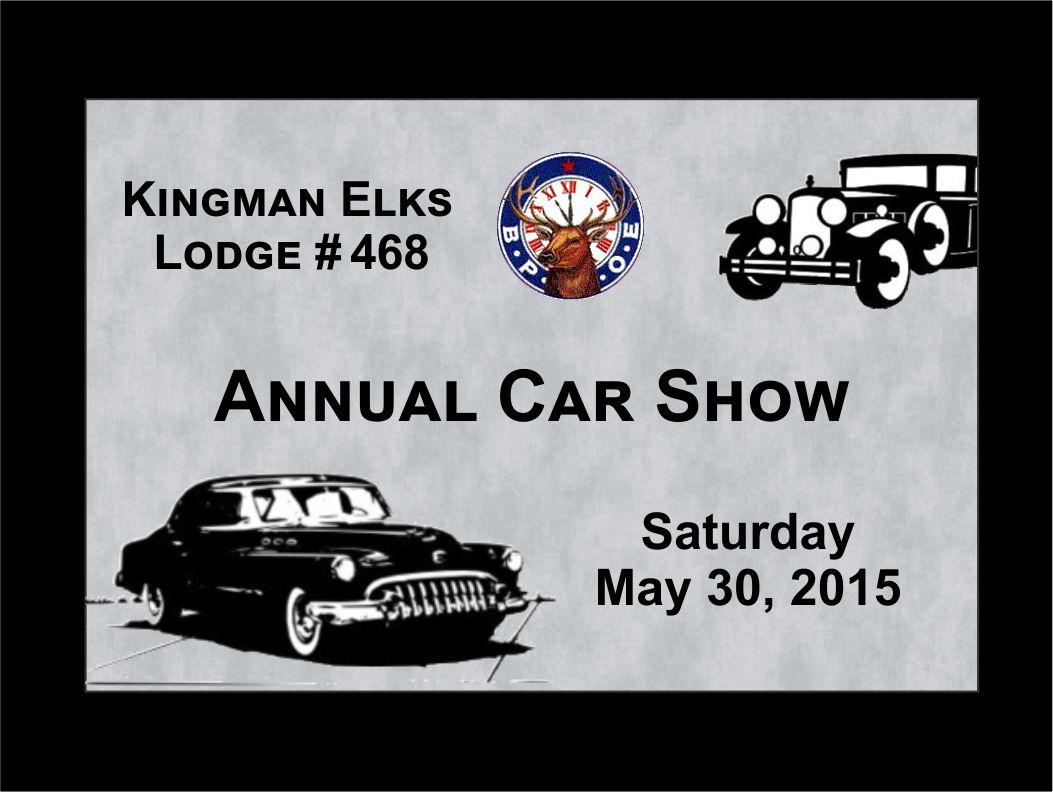 Car Show - Car show plaques